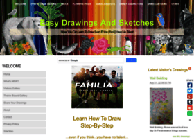 Easy-drawings-and-sketches.com thumbnail
