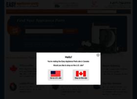 Easyapplianceparts.ca thumbnail