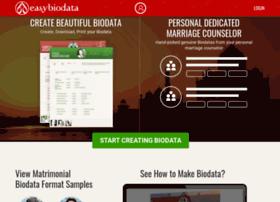 Easybiodata.com thumbnail