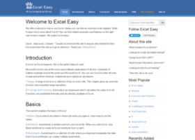 Easyexceltutorial.com thumbnail