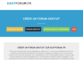 Easyforum.fr thumbnail