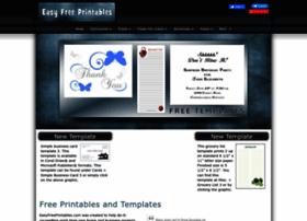 Easyfreeprintables.com thumbnail