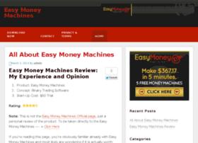 Easymoneymachines.net thumbnail