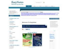Eazynotes.com thumbnail