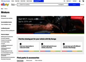 Ebaymotors Co Uk At Wi Motors Products For Sale Ebay