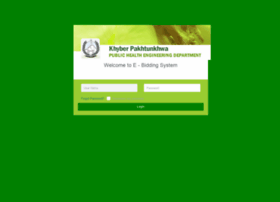 Ebidding.phedkp.gov.pk thumbnail