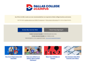© Dallas County Community College District. Report an Online Accessibility Issue | Privacy & Security Policy Commitment | Report Fraud.