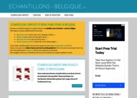 Echantillons-belgique.be thumbnail