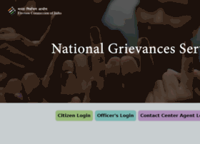 Eci-citizenservices.nic.in thumbnail