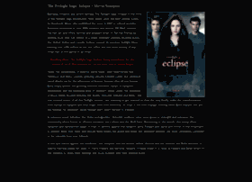 Eclipsethemovie.com thumbnail