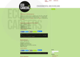 Ecocareers.ie thumbnail