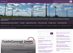 Ecofinconcept.de thumbnail