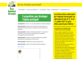 Ecohabitatgroupe.fr thumbnail