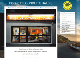 Ecole-de-conduite-halbis.com thumbnail