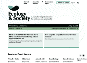Ecologyandsociety.org thumbnail
