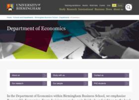 Economics.bham.ac.uk thumbnail