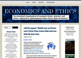 Economicsandethics.org thumbnail