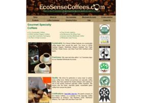 Ecosensecoffees.com thumbnail