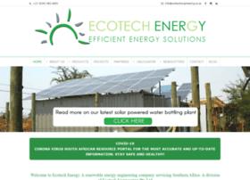Ecotechenergy.co.za thumbnail