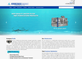 Ecowater.co.in thumbnail