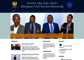 Ecsu.edu.et thumbnail
