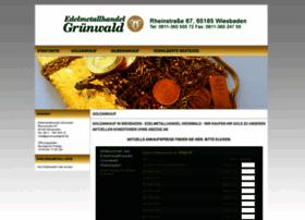 Edelmetallhandel-gruenwald.de thumbnail