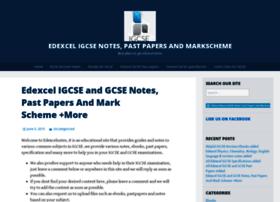 Edexcelnotes.wordpress.com thumbnail