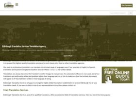 Edinburghtranslation.co.uk thumbnail