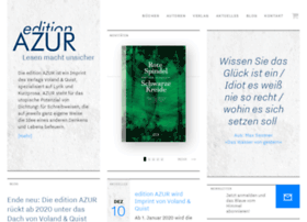 Edition-azur.de thumbnail