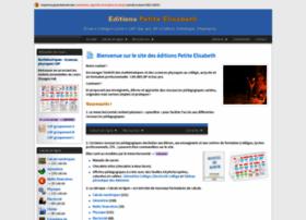 Editions-petiteelisabeth.fr thumbnail