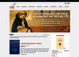 Editionsducerf.fr thumbnail