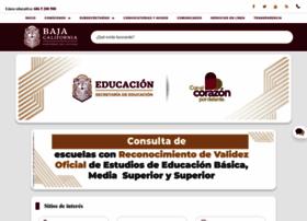 Educacionbc.edu.mx thumbnail