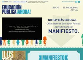 Educacionpublicaahora.cl thumbnail