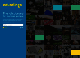Educalingo.com thumbnail