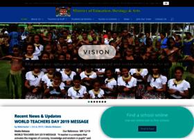 Education.gov.fj thumbnail
