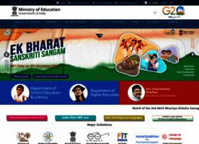 Education.gov.in thumbnail