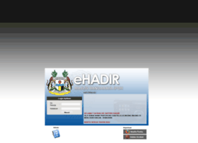 Ehadir.mbi.gov.my thumbnail