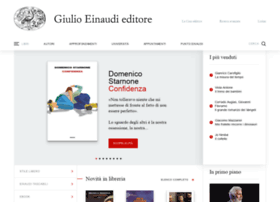 Einaudi.it thumbnail