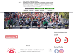 Einstein-marathon.de thumbnail