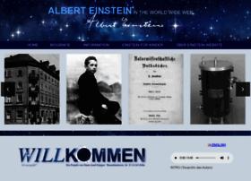 Einstein-website.de thumbnail