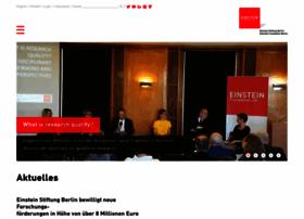 Einsteinfoundation.de thumbnail