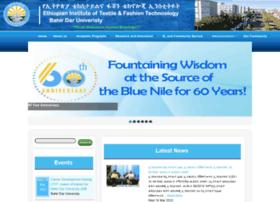 Eitex.bdu.edu.et thumbnail