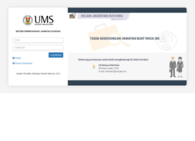 Ejobs.ums.edu.my thumbnail