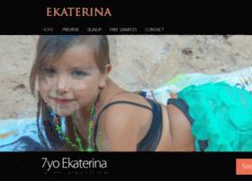 ekaterina.kvetina.bz at WI. Ekaterina 7yo model: http://website.informer.com/ekaterina.kvetina.bz