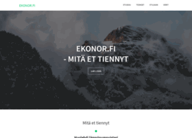 Ekonor.fi thumbnail
