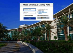 Elearning.alfaisal.edu thumbnail