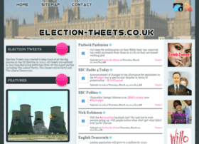 Election-tweets.co.uk thumbnail