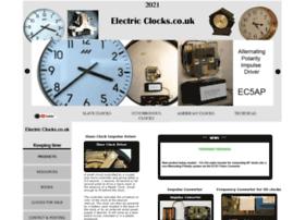 Electric-clocks.co.uk thumbnail