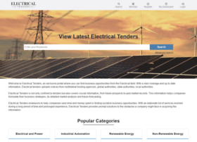 Electricaltenders.com thumbnail