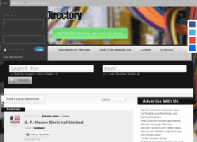 Electriciandirectory.co.uk thumbnail